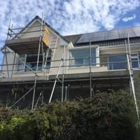 Scaffolding for Solar Panels