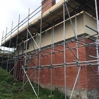 Scaffolding Ilfracombe - Uneven Areas Example