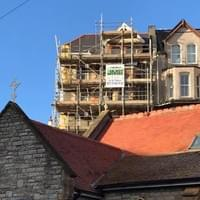 Domestic Scaffolding Job in Ilfracombe