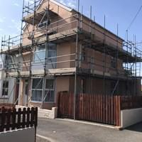 Domestic Scaffolding Job Ilfracombe