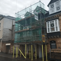Full Scaffolding Hire in Ilfracombe