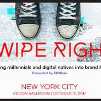 Kelley and her son, Jake, were invited to be featured speakers at the 2017 PRWeek Swipe Right Conference.