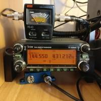ICOM IC-2820e in action