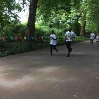 Fun Run at Battersea Park in association with Guy Mascolo Football Charity