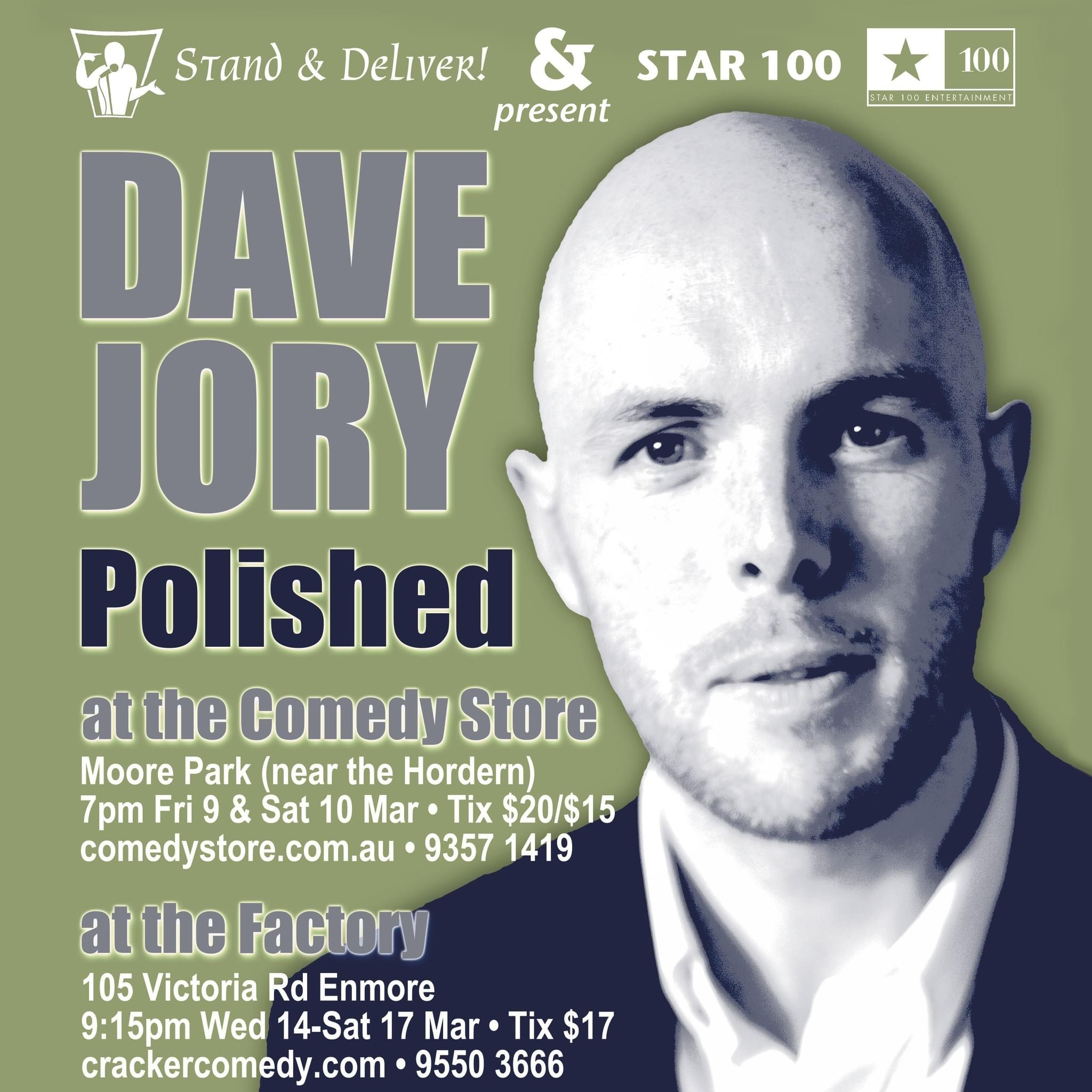 Dave Jory is Polished (production, design)