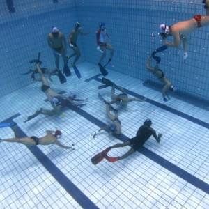 Underwater Hockey at 5m pool
