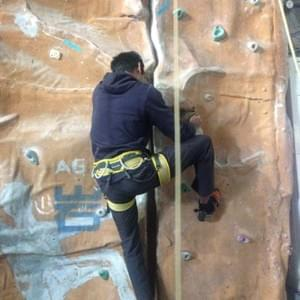 Rock Climbing at Hengyi Climbing Gym Shanghai
