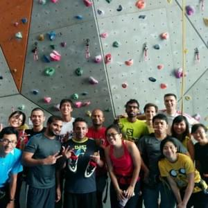 Rock Climbing League at Climbers Lab