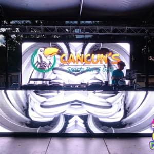 Cinco de Mayo @ Cancuns 2019. Video wall provided by JPC Entertainment