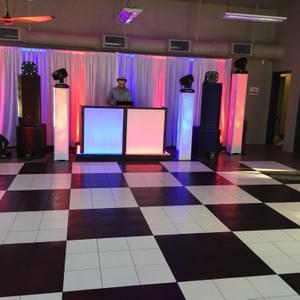 Clients 70th Disco birthday party, May 2017