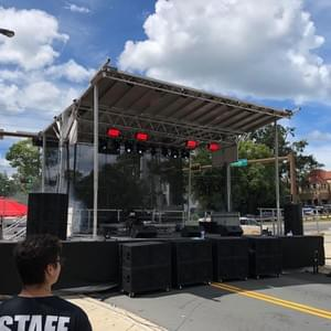 Downtown College Ave Music Festival in Tallahassee FL, September 2018.  Production provided by JPC Entertainment