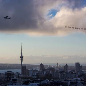 That time we crowdfunded a skyplane in support of doubling the refugee quota