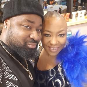 L-R, Singer & Songwriter, Harrysong with Dr Yewande Okuleye