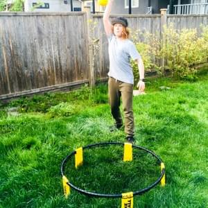 Spikeball - our new PE game