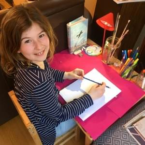 Fiona's home work station