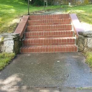 New Brick Staircase