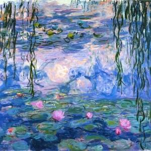 MARCH 12th, MONET, WATERLILIES, 1840-1926