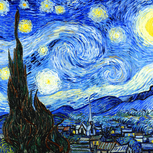 JANUARY 8th, VAN GOGH, STARRY NIGHT, 1889