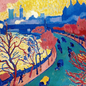 AUGUST 13th, DERAIN, CHARING CROSS BRIDGE, C.1905