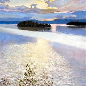 JUNE 11th, GALLEN KALELLA, LAKE VIEW, 1901
