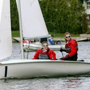 420 2-person dinghy