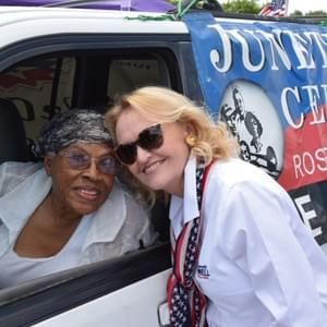 Beverly Powell at the Como 4th of July Parade