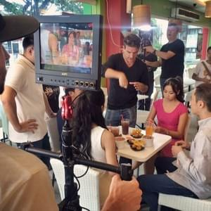 On the set at Dimsum Break