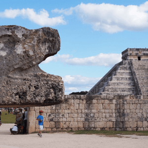 Excursion Chichen itza avec guide francophone