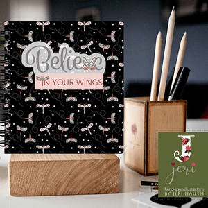 Believe in Your Wings Mock-up Journal
