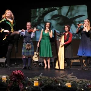 Megan McConnell Singing in Jamie Laval's Celtic Christmas
