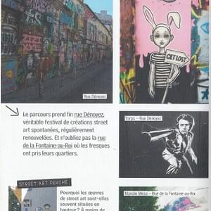 Guide du Street Art Paris Editions Alternatives 2017 Page60