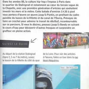 Guide du Street Art Paris Editions Alternatives 2017 Page99