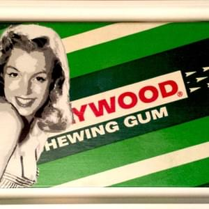Marilyn sur toile Hollywood Chewing Gum