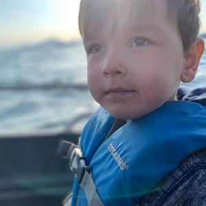 Our little Deckhand, Ryker