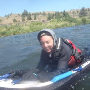 River Boarding in Oregon