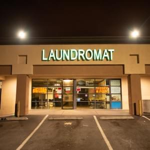 Laundromat on Sahara and Maryland Pkwy at night. Las Vegas, NV July 30, 2018. Photo by Johnnie Wade.