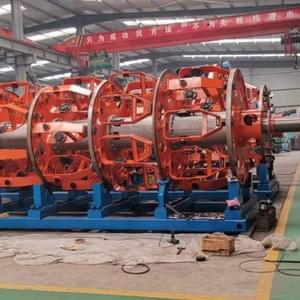 steel wire armouring machine process- capstaner technology