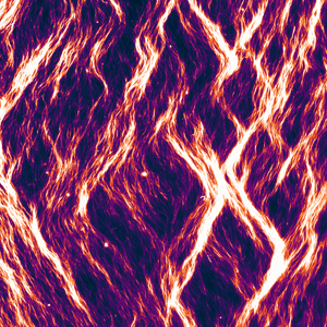 ZIgzag pattern of gliding microtubules formed under cyclic stretching
