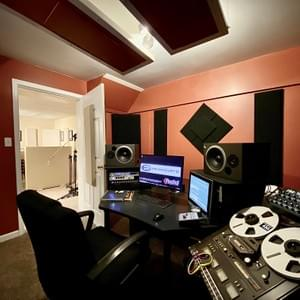 Métier Mastering's Control Room, producer's view