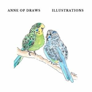 "53-full color pages of Anne's illustrative work.  This softcover 6x6"" book will make you smile and laugh, and give you all the feels.   $25 + postage."