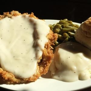 Our signature Chicken Fried Steak!  Over 50,000 made and served.