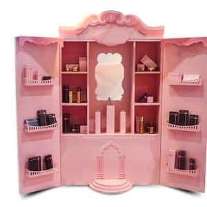 Paper Display for make up retail