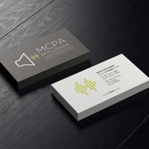 MCPA Business Card Design