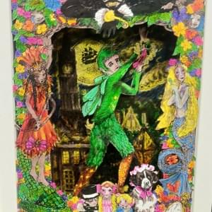 Peter Pan Shadow Box