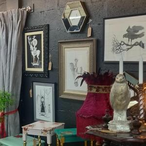 Art and Curios - The Gilded Raven in Studio 10