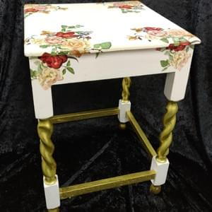 Small Decoupage Table