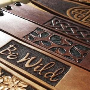 Engraving in Leather