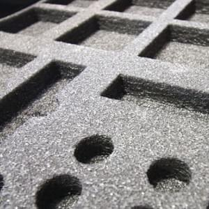 Cutting in Foam