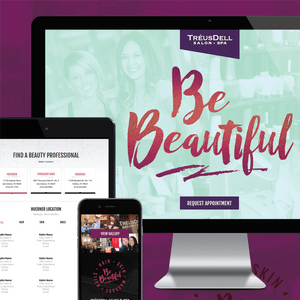 Treuss Dell Website + Campaign (Designed at Creative Parc)