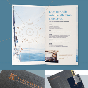 Kercheville Investment Advisors Sales Brochures (Designed at Creative Parc)